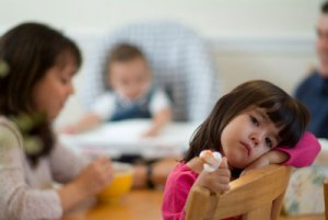 Do not let children have often seen the not bad or disability of parents